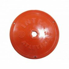 Диск тренировочный 26 мм, вес - 5 кг