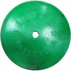 Диск тренировочный InterAtletika SТ 521-5 10 кг